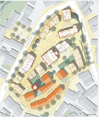 Stadtgestaltung Stadtmitte Mönsheim